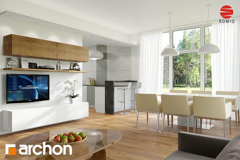 Projekt domu Dom w mekintoszach 4 - ARCHON+