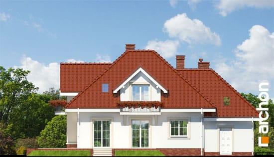 Archon+ Projekty domów - Dom w werbenach - elewacja ogrodowa