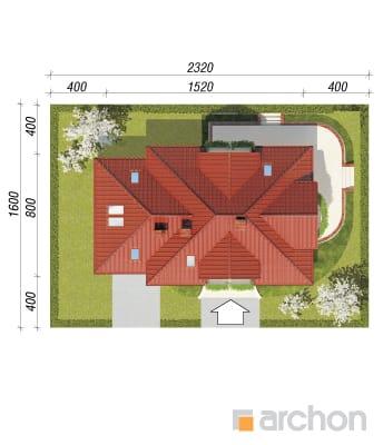 Archon+ Projekty domów - Dom w werbenach - sytuacja