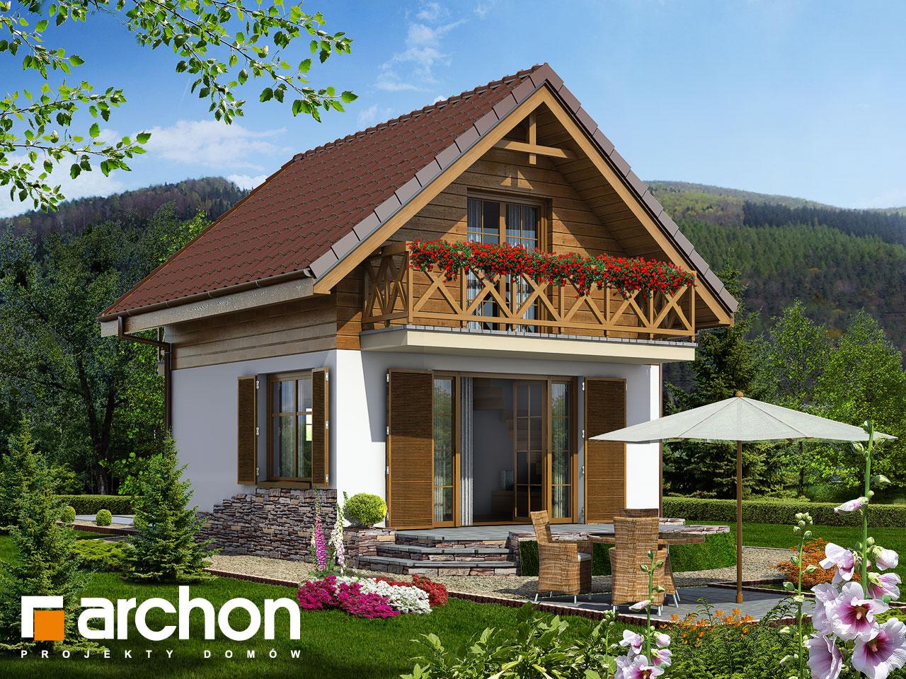 Гениальный типовой проект компактного дома, домик 59 м2.