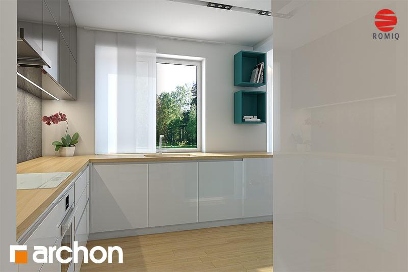 Dom w awokado (N) Koszty budowy  projekt domu ARCHON+ -> Kuchnia Elektryczna Koszty Eksploatacji