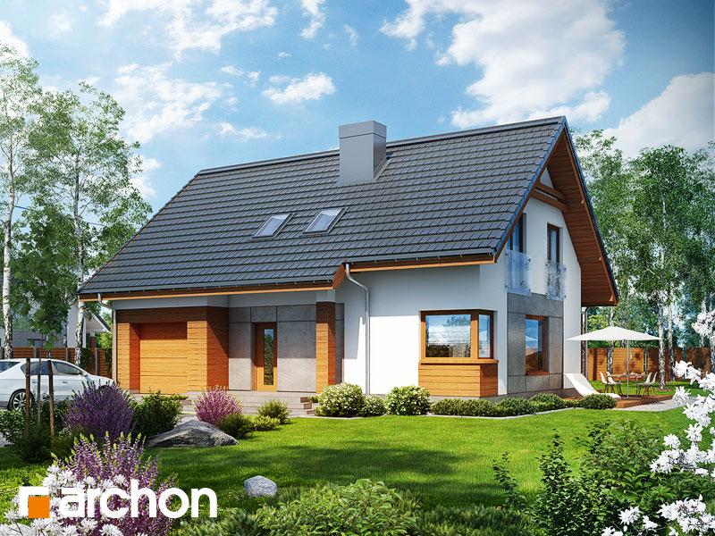 Projekt Dom W Jabłonkach 2 Pracownia Archon Projekty Domów I