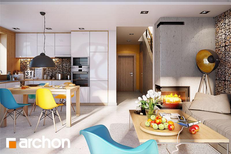 projekt domu dom pod mi orz bem 6 gb archon. Black Bedroom Furniture Sets. Home Design Ideas