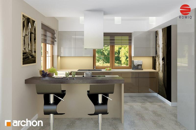 Dom w kaliach 3 (P)  projekt domu ARCHON+ -> Kuchnia Projekt Bella