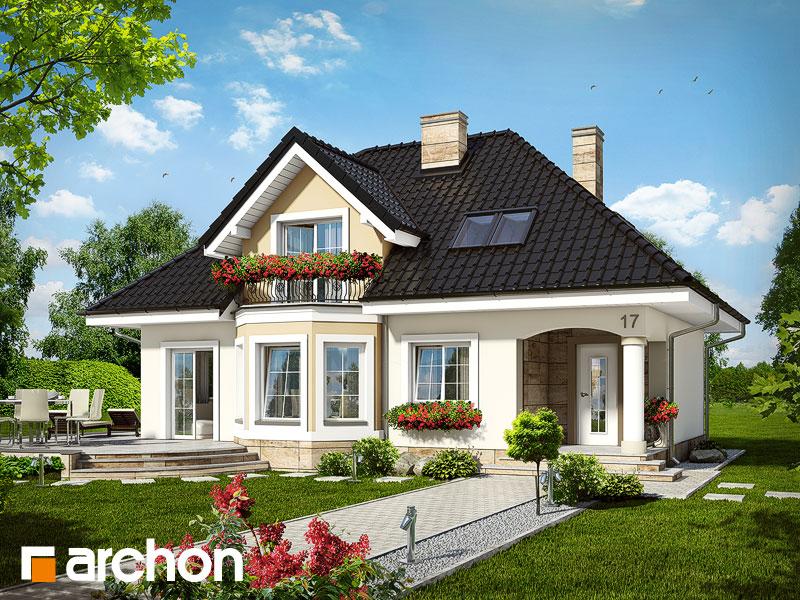 Projekt domu dom w awokado ver 2 archon for Foto di case americane