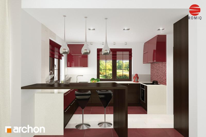 Projekt domu Dom w kaliach 3 ver 2  ARCHON+ -> Kuchnia Projekt Bella