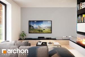 Wizualizacje Wnętrz Do Projektów Domów Strefa Dzienna Archon