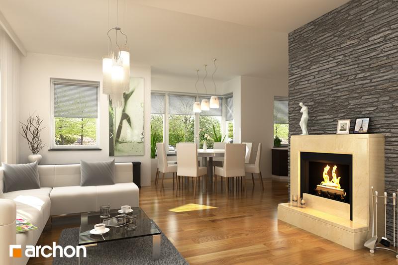 Projekt domu dom w werbenach 2 ver 2 galeria archon - Progetti case interni ...