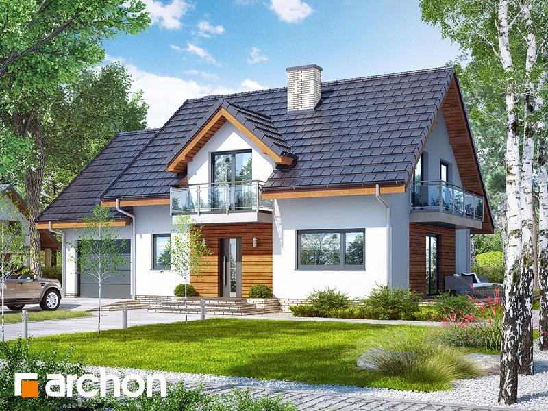 Projekt Domu Dom W Czerwonokrzewach T Galeria Archon