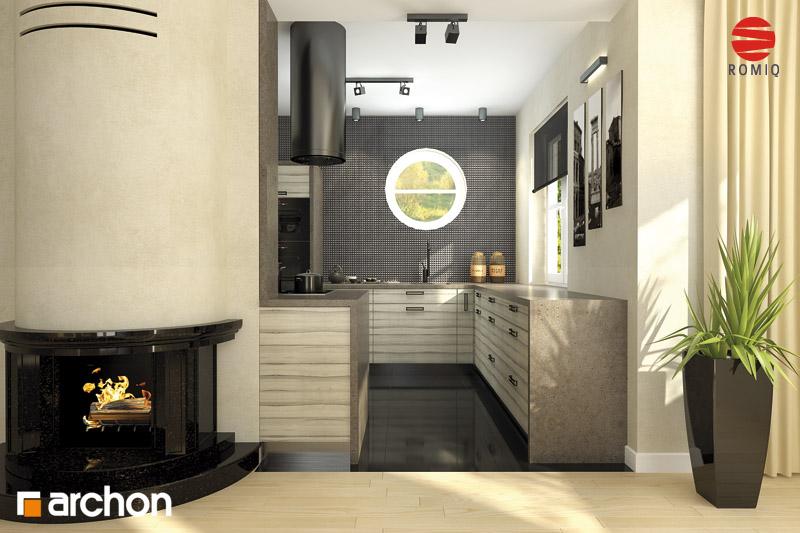 Projekt domu Dom w mandarynkach ver.2 - ARCHON+