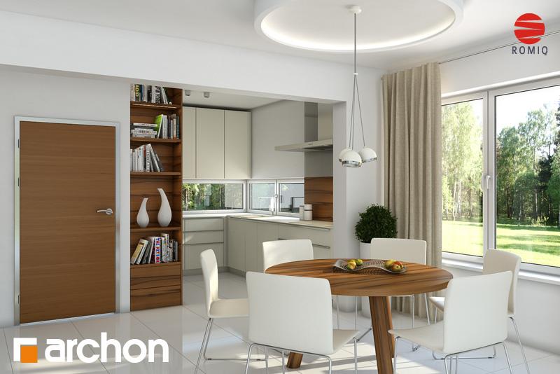 Dom w budlejach (R2) Koszty budowy  projekt domu ARCHON+ -> Kuchnia Gazowa Czy Indukcyjna Koszty