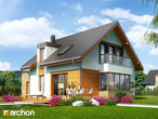 Projekt domu dom w kardamonie archon for Comprare casa prefabbricata