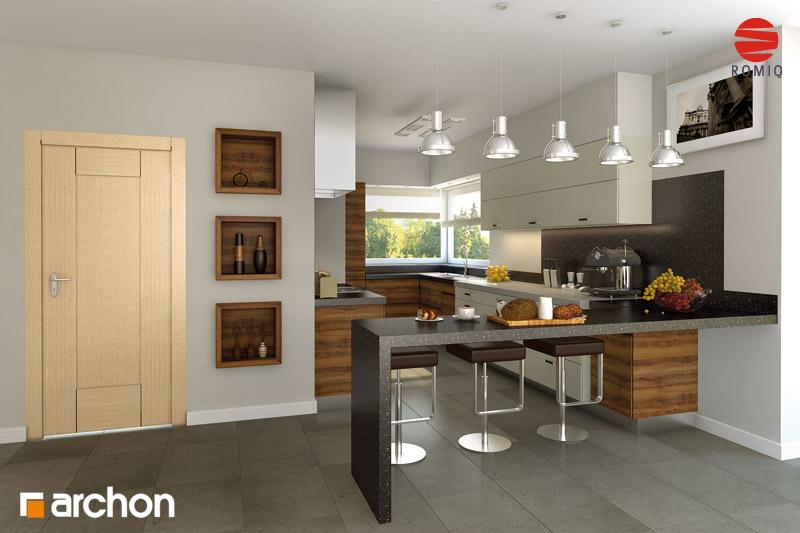 Dom w hebe 2 ver 2 Społeczność  projekt domu ARCHON -> Kuchnia Projekt Bella