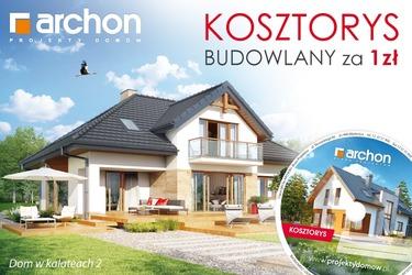 Kup Projekt Domu Z Kosztorysem Skorzystaj Z Promocji Archon