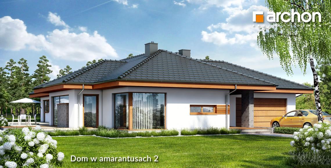 Dobrze Zaprojektowany I Wygodny Dom Parterowy Archon