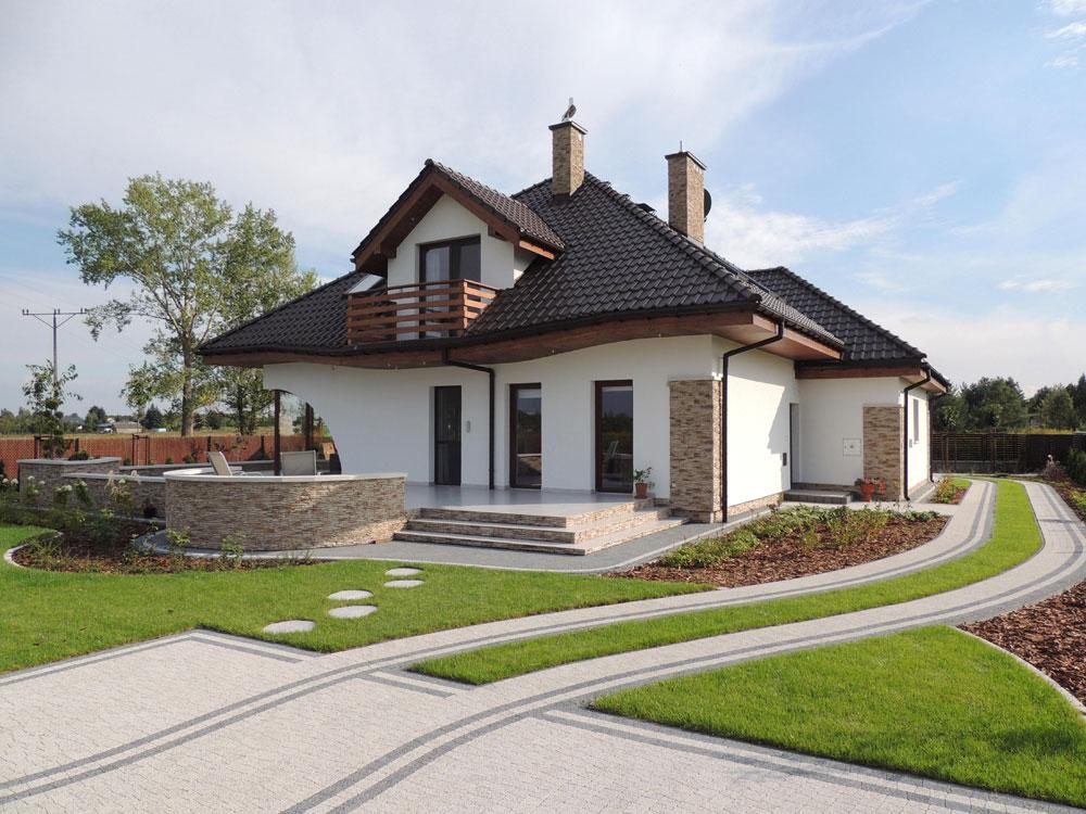 Zaawansowane 12 najpiękniejszych współczesnych domów jednorodzinnych - ARCHON+ KR11