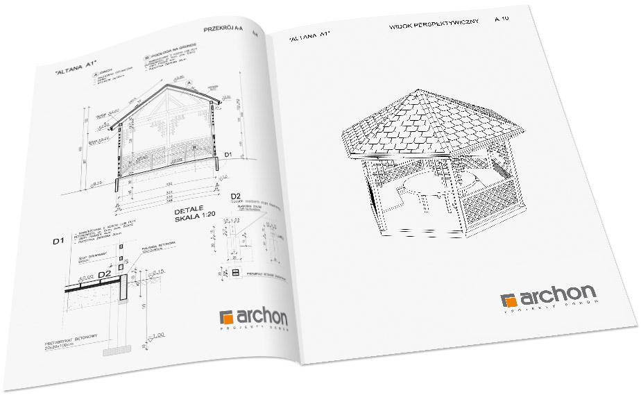 Projekt Gotowy Altany Ogrodowej Archon